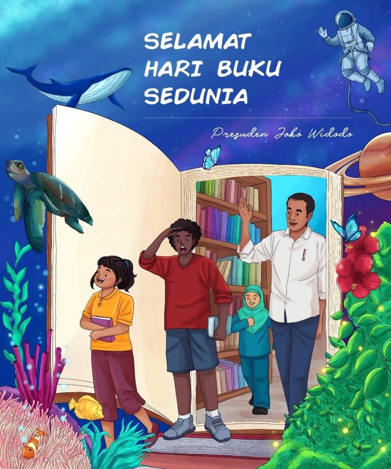 Hari Buku Sedunia, Teman Paling Tenang dan Setia Dalam Pandemi COVID-19