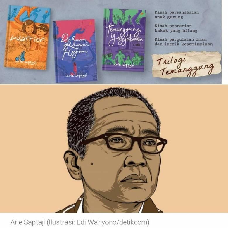 "Penulis ""Trilogi Temanggung"", Arie Saptaji Sahabat  Saya"