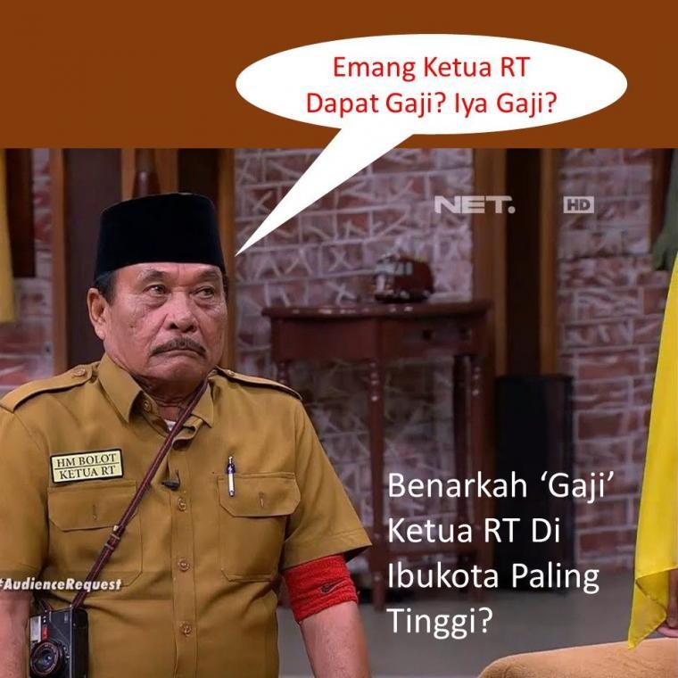 Nih, Perbandingan Gaji Ketua RT di Indonesia