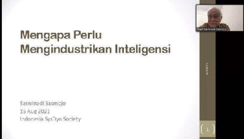 Mengindustrikan Inteligensi: Kado Kemerdekaan dari Prof. Saswinadi