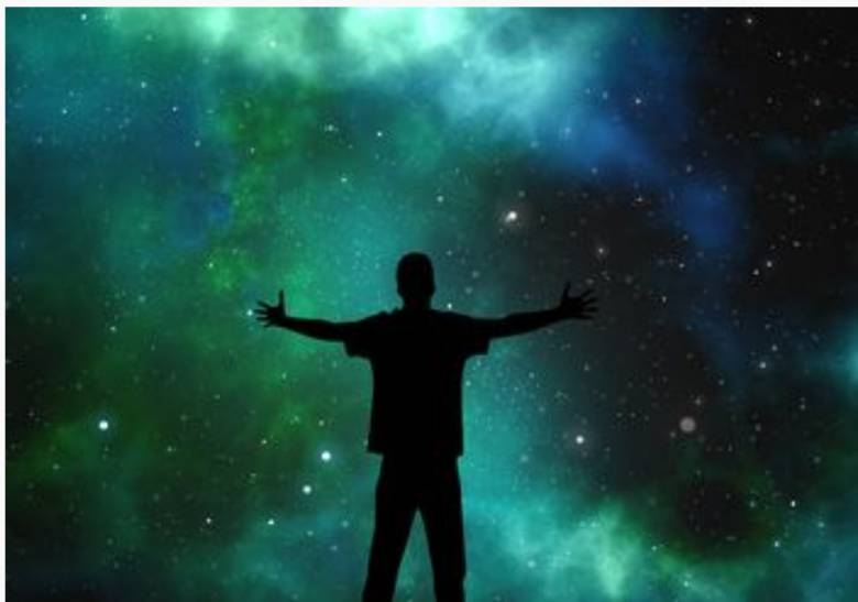 Human Are Living Things As Part of the Cycle of the Universe
