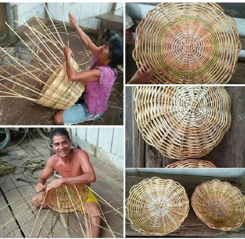 Kerajinan Rotan Masyarakat Dusun Ensibau: Ciri Khas dan Kemahiran